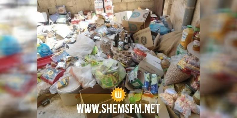 Sidi Bouzid : des produits alimentaires de contrebande à bord de deux bus touristiques