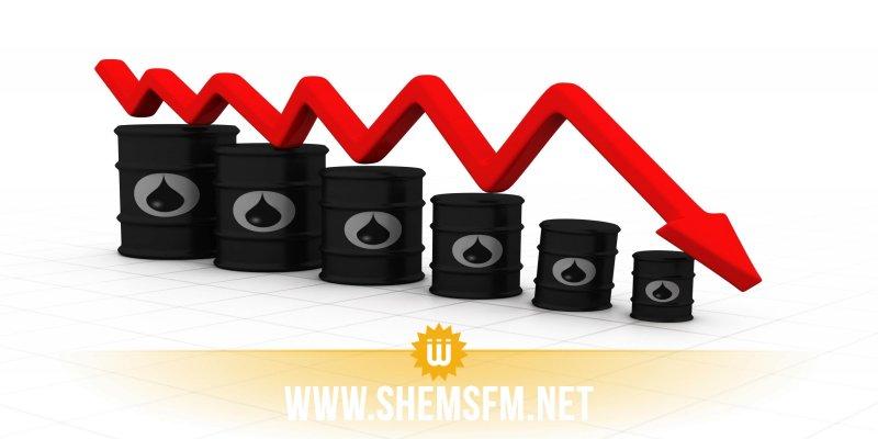 هبوط أسعار النفط وسط قلق من تباطؤ الإقتصاد العالمي