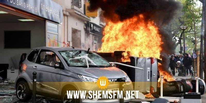 إنفجار مدوي يهز وسط العاصمة الفرنسية