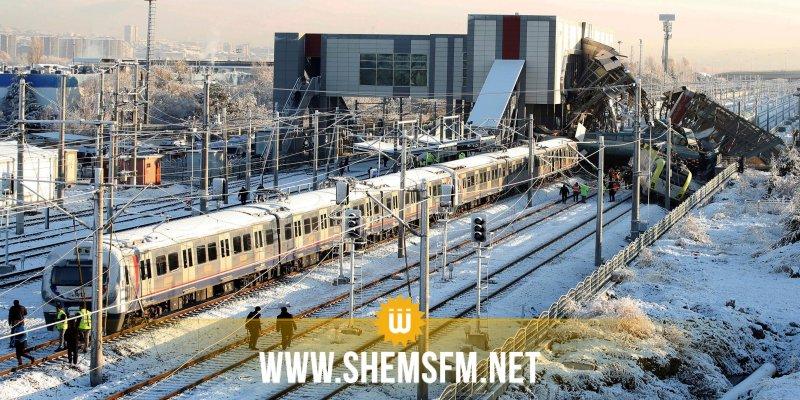 إسطنبول: تحطم قطار في رحلة تجريبية