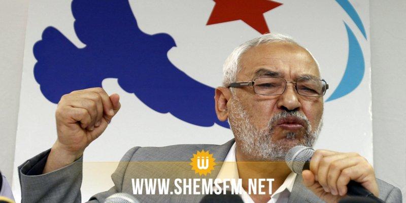 راشد الغنوشي:'هناك إستعمال لقضايا الإغتيالات لأهداف سياسية'