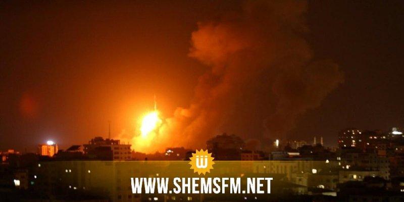 الاحتلال الصهيوني يقصف مواقع في غزة