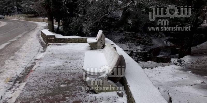 Ain Drahem sous la neige (Photos)