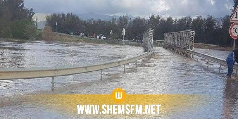 بوسالم: مجهولون حاولوا خلع بابين لتسريب مياه وادي مجردة نحو القنال لإغراق المدينة