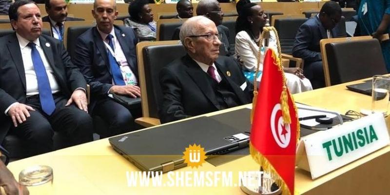 رئيس الجمهورية يدعو إلى منح منطقة شمال افريقيا المقعد الثالث في مجلس السلم للاتحاد الإفريقي