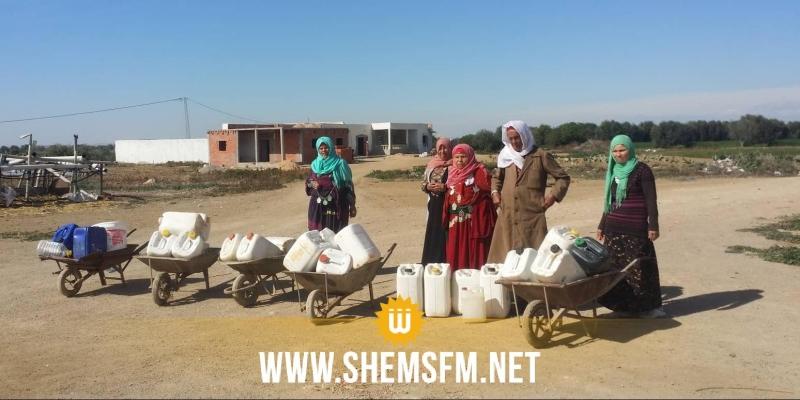 القيروان: 150 عائلة في قرية 'الفرزو' دون ماء (صور)