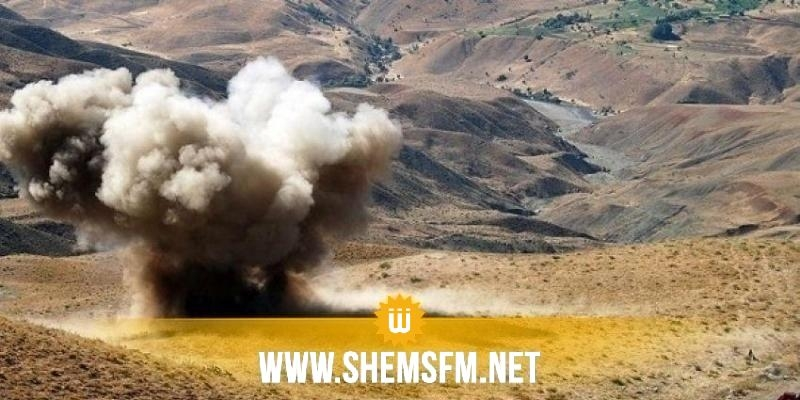 جبل سمامة: انفجار لغم أرضي على عامل مقاولات