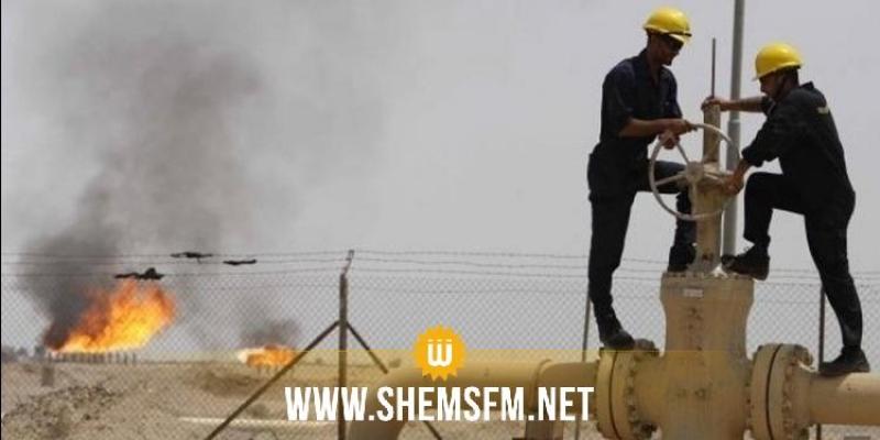 اضراب بثلاثة ايّام في حقل غاز الجنوب في صحراء تطاوين
