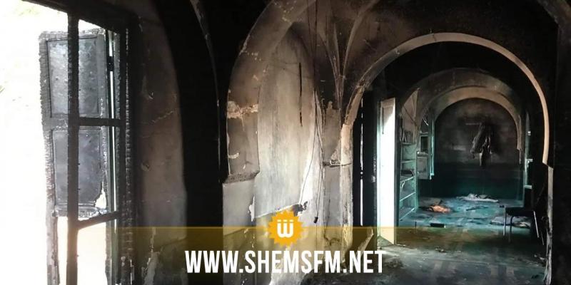 سبيطلة: نشوب حريق داخل مسجد