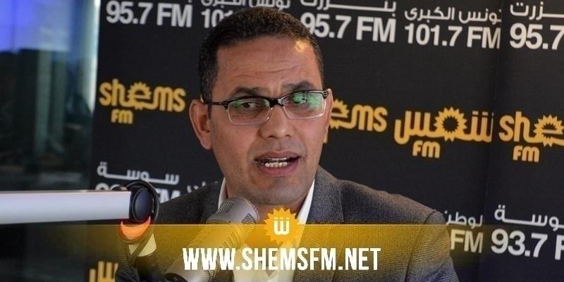 الحرباوي يعتبر القائمة المعلنة من نداء تونس في الحمامات 'هزيلة'