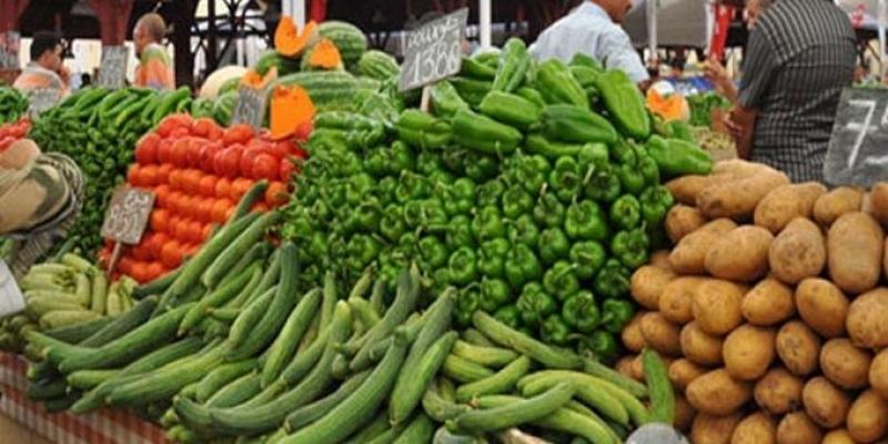 مدنين: حجز أكثر من 27 طن من الخضر والغلال