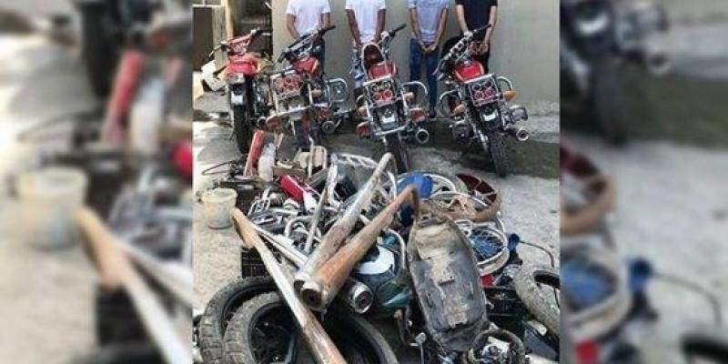سيدي بوعلي: منحرفون يسرقون دراجات نارية من المستودع البلدي