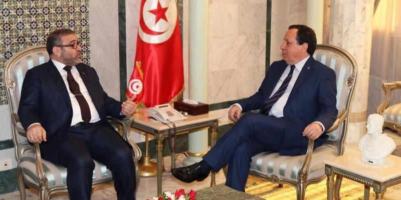 مستجدات الوضع في ليبيا محور لقاء وزير الخارجية برئيس المجلس الأعلى للدولة في ليبيا