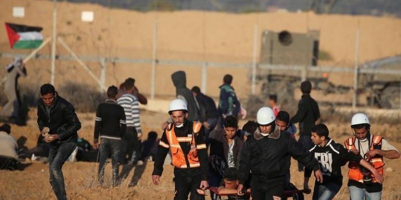 إصابة 46 فلسطينيا جراء قمع الجيش الصهيوني
