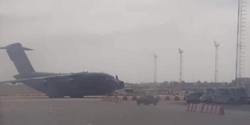 الديوانة توضّح بخصوص طائرة عسكرية قطرية حلت بمطار جربة