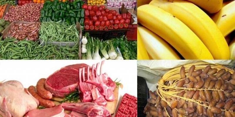 مرصد التزويد والأسعار: تسجيل تراجع في أسعار الخضر والغلال واللحوم