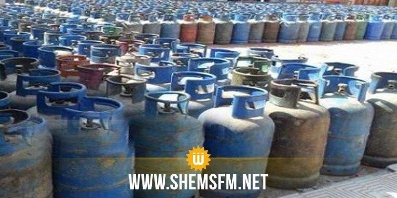 تعليق إضراب موزعي قوارير الغاز