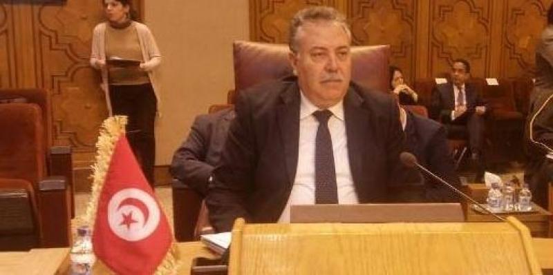 باش طبجي: تونس تؤكد رفضها المساس بالمرجعيات الجوهرية للقضية الفلسطينية