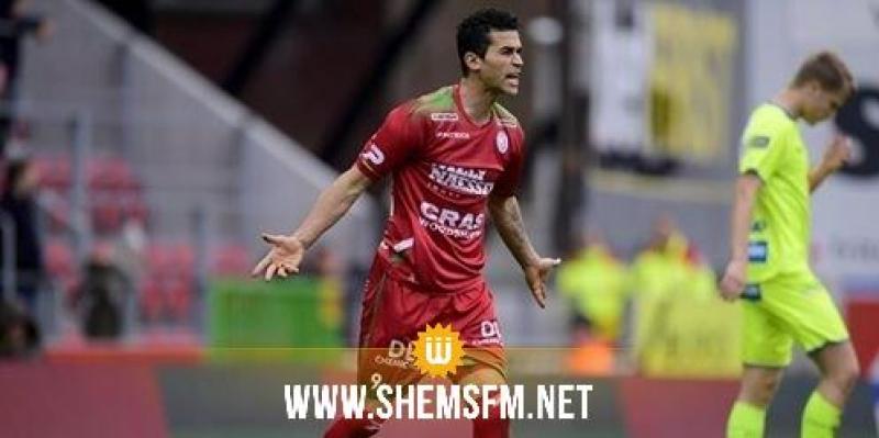 البطولة البلجيكية: حمدي الحرباوي يسجل ثنائية ويعاقب ب5 مباريات