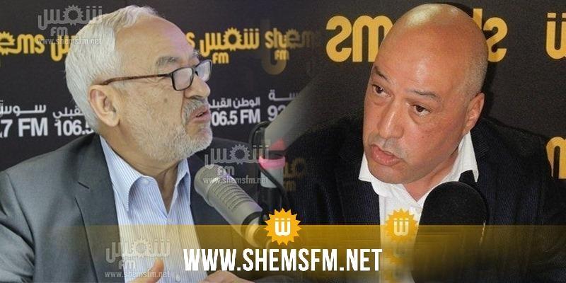 هشام السنوسي:'راسلنا راشد الغنوشي وطالبناه بعدم دعم حزبه للمؤسسات المارقة عن القانون'