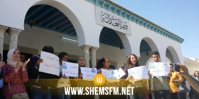 القيروان: عرض 7 موقوفين من المعطلين عن العمل أصحاب الشهائد العليا على أنظار النيابة العمومية