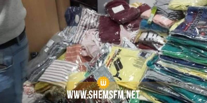 صفاقس: الديوانة تحجز 3646 قطعة ملابس بقيمة 107 ألف دينار (صور)