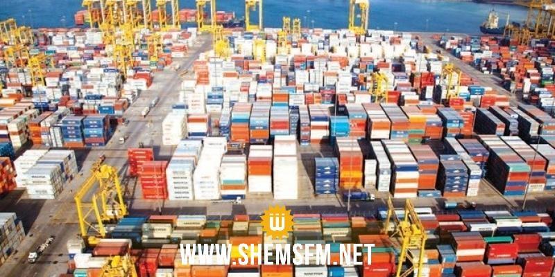 التبادل التجاري مع الخارج: انخفاض الصادرات التونسية بــ 7ر2% والواردات بـ 2%