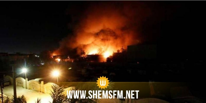 بغداد.. سقوط صاروخ بمحيط السفارة الأميركية