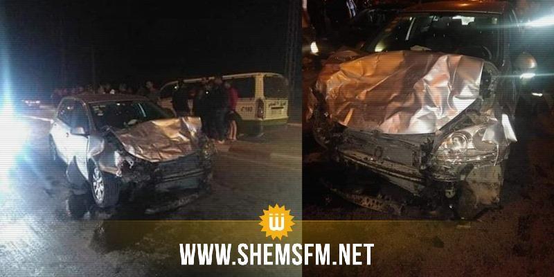المنستير: وفاة أب وزوجته وإبنته في حادث مرور