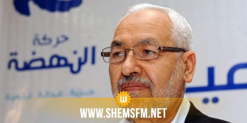 راشد الغنوشي:'حركة تحيا تونس من مشتقات النداء ومشتقات النداء هي النداء'