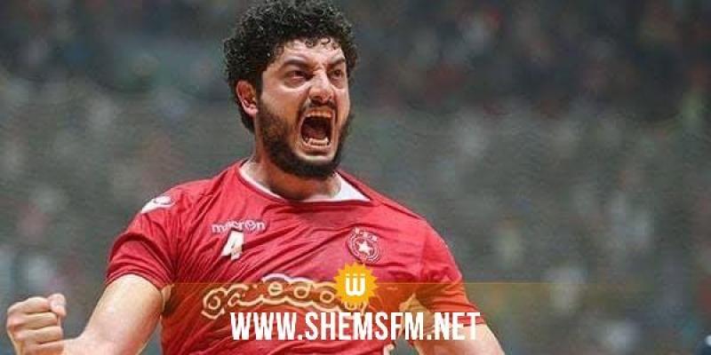 تجربة جديدة لجهاد جاب الله لاعب المنتخب الوطني لكرة اليد