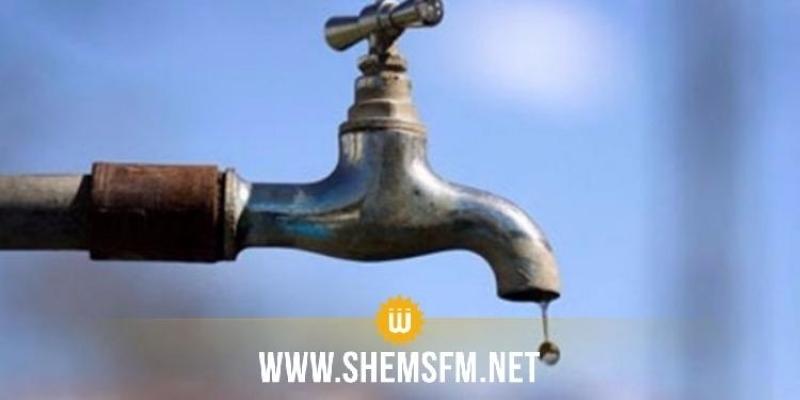 Perturbations et coupures dans la distribution d'eau potable à Menzel Bouzayane