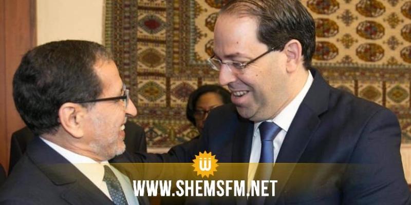 رئيس الحكومة يلتقي نظيره المغربي