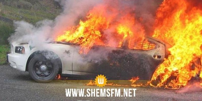 صفاقس: تفحم 3 سيارات وتضرر شقق مجاورة إثر حريق في ورشة طولة ودهينة