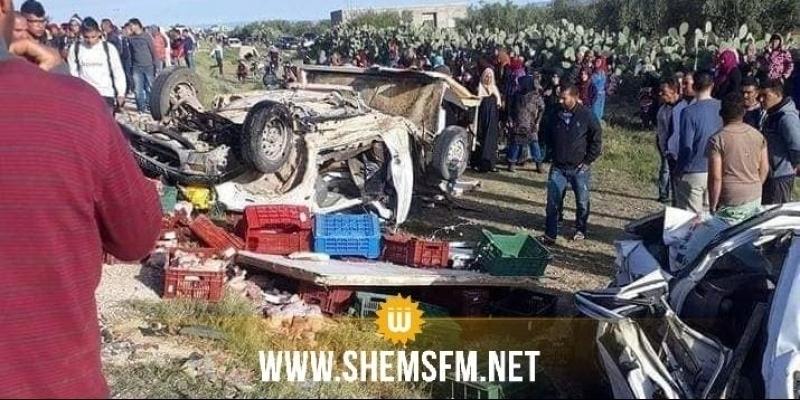 وفاة 12 عاملا فلاحيا بالسبالة: جمعية الوقاية من حوادث الطرقات تكشف سبب الحادث