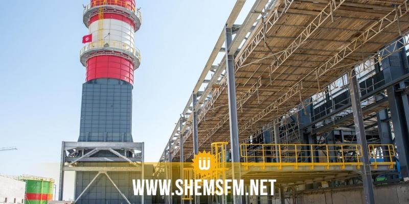 إعطاء اشارة تشغيل محطة توليد الكهرباء ببرج العامري-المرناقية