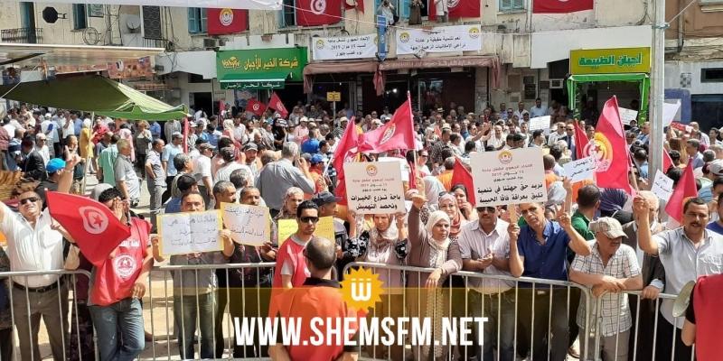 باجة: يوم غضب جهوي للمطالبة بالتنمية والتشغيل وتكريس التمييز الإيجابي ومجلس وزاري في الأفق
