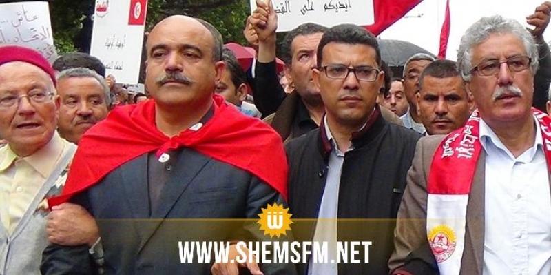 الوطد:'حمه الهمامي ليس لديه الأهلية القانونية لتمثيل الجبهة الشعبية لدى مختلف السلطات والهيئات'