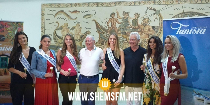 6 مترشحات للقب ملكة جمال فرنسا في جربة (صور)
