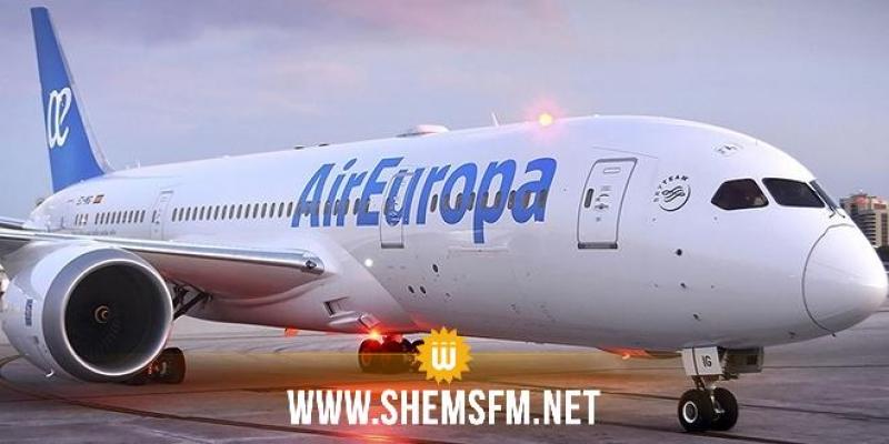 آر أوروبا تستأنف رحلاتها الجوية من مدريد إلى تونس