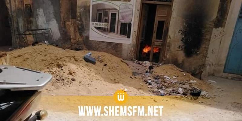 صفاقس: نشوب حريق قرب زاوية سيدي علي النوري الأثرية