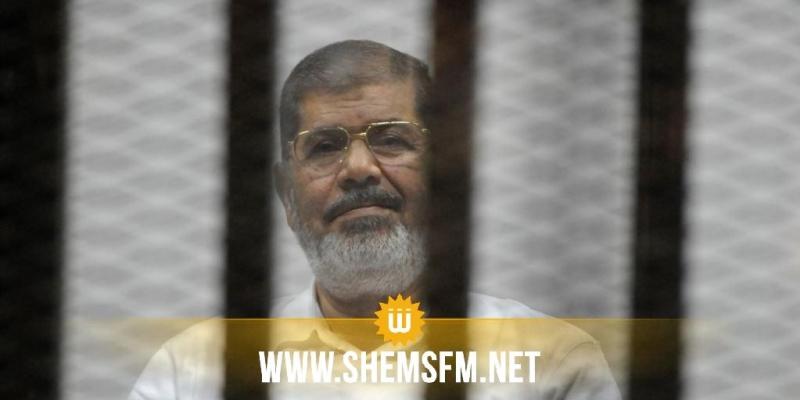 وفاة الرئيس المصري السابق محمد مرسي في المحكمة