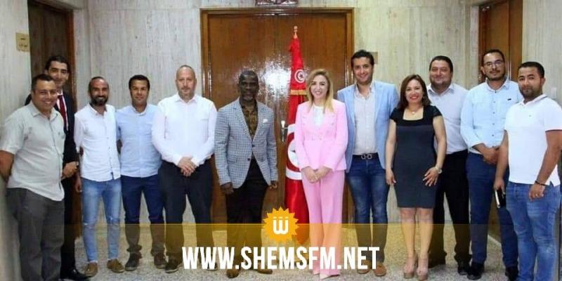 وزيرة الشباب والرياضة تستقبل الجمعية التونسية للإعلام الرياضي