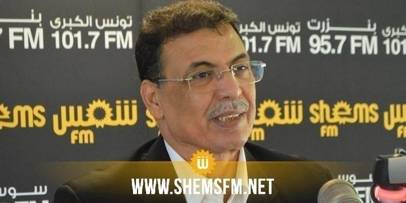 Bouali Mbarki : 'l'amendement de la loi électorale entre dans le cadre de l'exclusion politique'