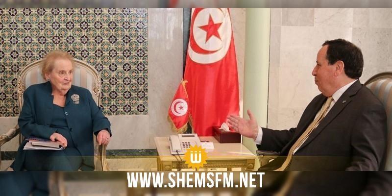 مادلين أولبرات:'تونس مثال جيّد لبلد تتطور فيه الديمقراطية'