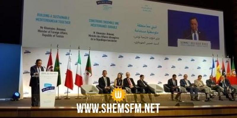 الجهيناوي: قمّة ضفتي المتوسّط من شأنها دعم جهود بلدان حوض غرب المتوسط في تحقيق التّكامل والإندماج الإقتصادي والثّقافي