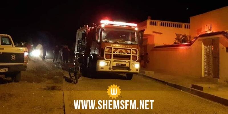 القيروان: السيطرة على حريق نشب فى أكوام من الحطب في نصر الله