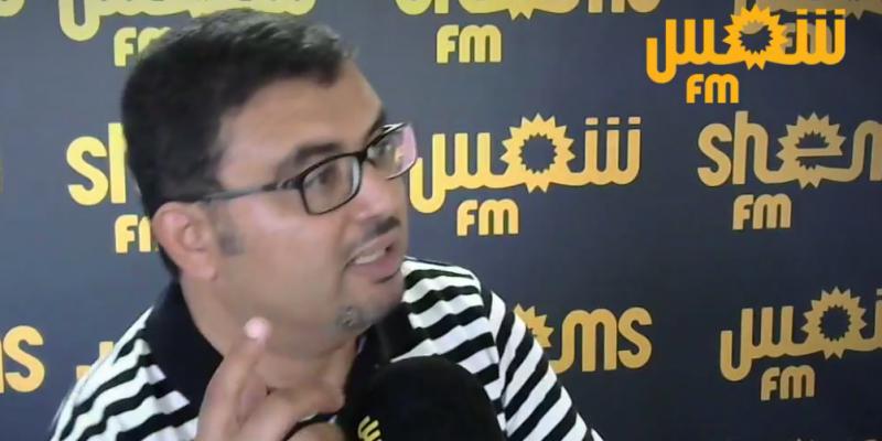 خالد شوكات: 'النهضة تشكو من الزعامتية'