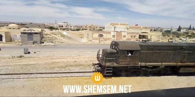 Gafsa : déraillement de 4 wagons du train transportant le phosphate