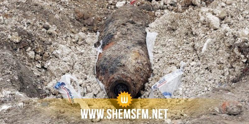 العثور على قذيفة من مخلفات الحرب العالمية الثانية في شاطئ حمام سوسة